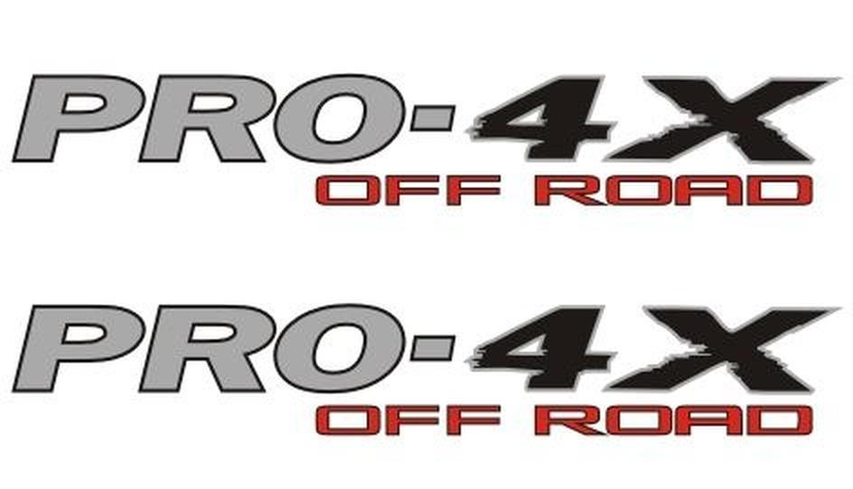 2 pro 4x 4x4 off road viny nissan titan 4 x decals stickers