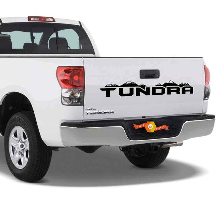 TOYOTA TUNDRA  Tailgate Stripe tailgate Decal graphics vinyl sticker