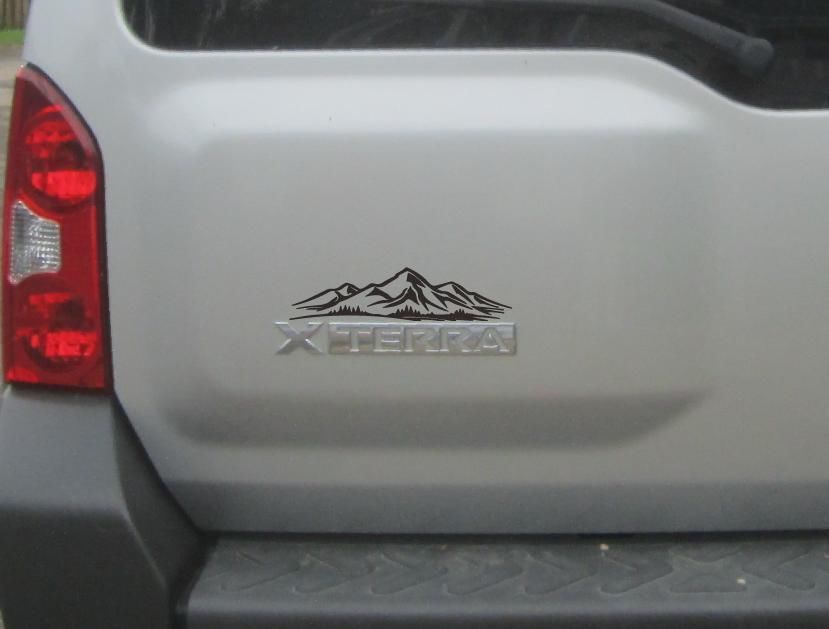 2 NEW Mountain Decal Nissan Xterra Off Road Pro-4x Jeep Wrangler