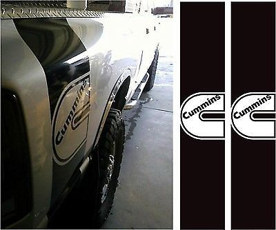 Bedside Cummins Aufkleber Aufkleber Dodge Diesel LKW