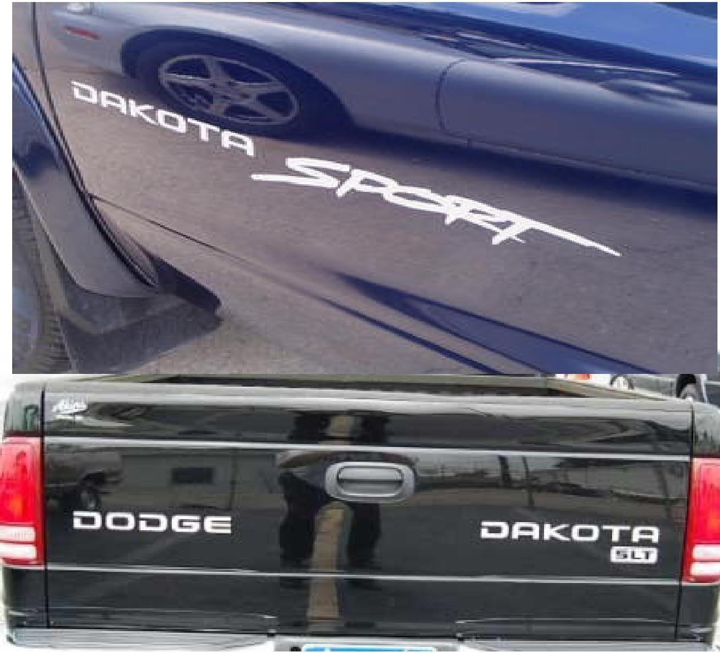 dodge dakota decals Dodge Dakota Sport decal sticker kit Dodge many colors