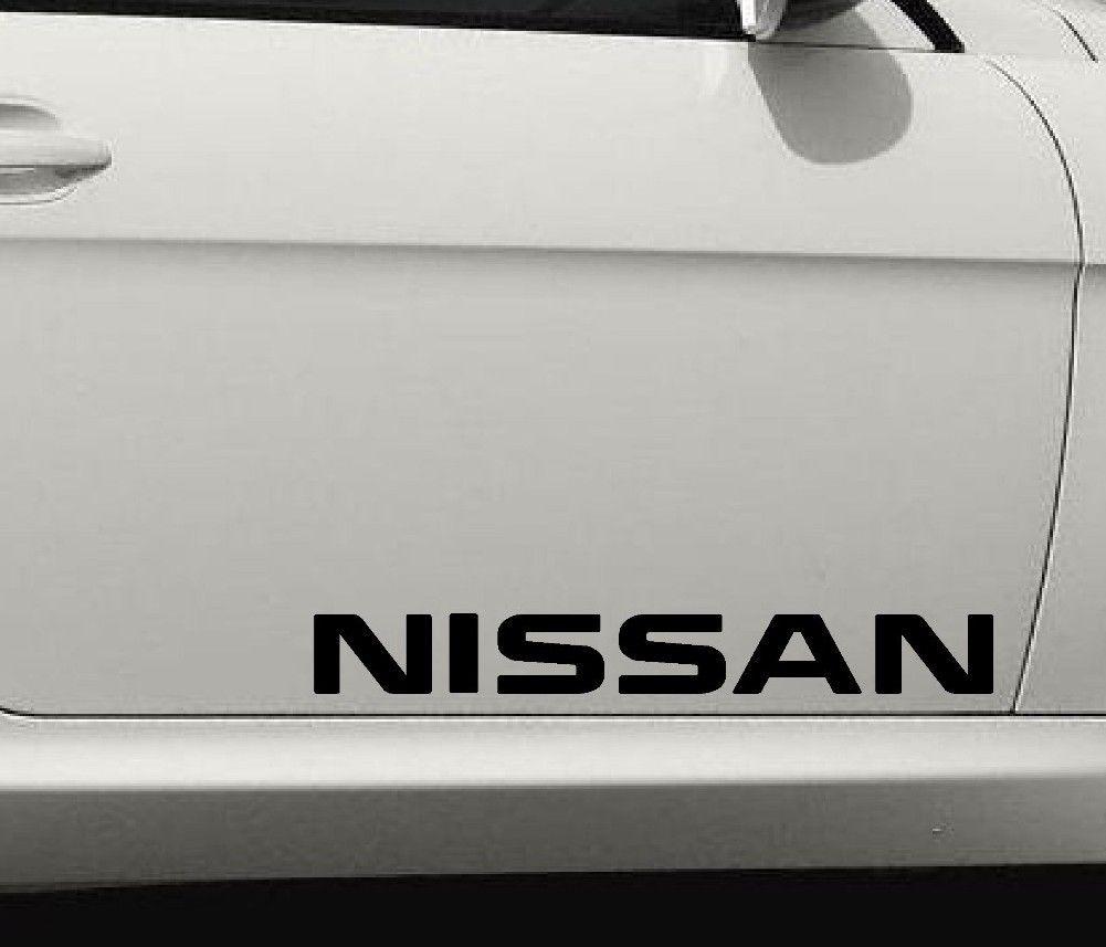2 nissan altima sentra maxima windshield stickers decals