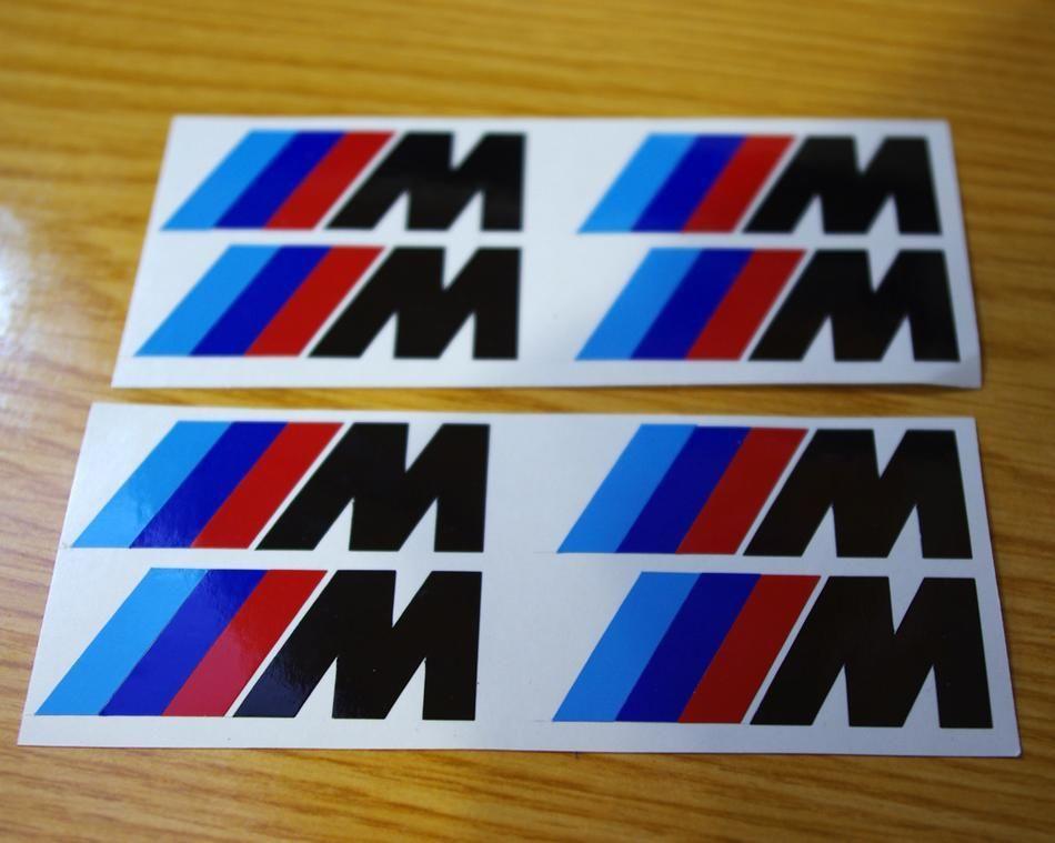 BMW M Brake Caliper M3 M5 M6 325 328 540 Decal sticker