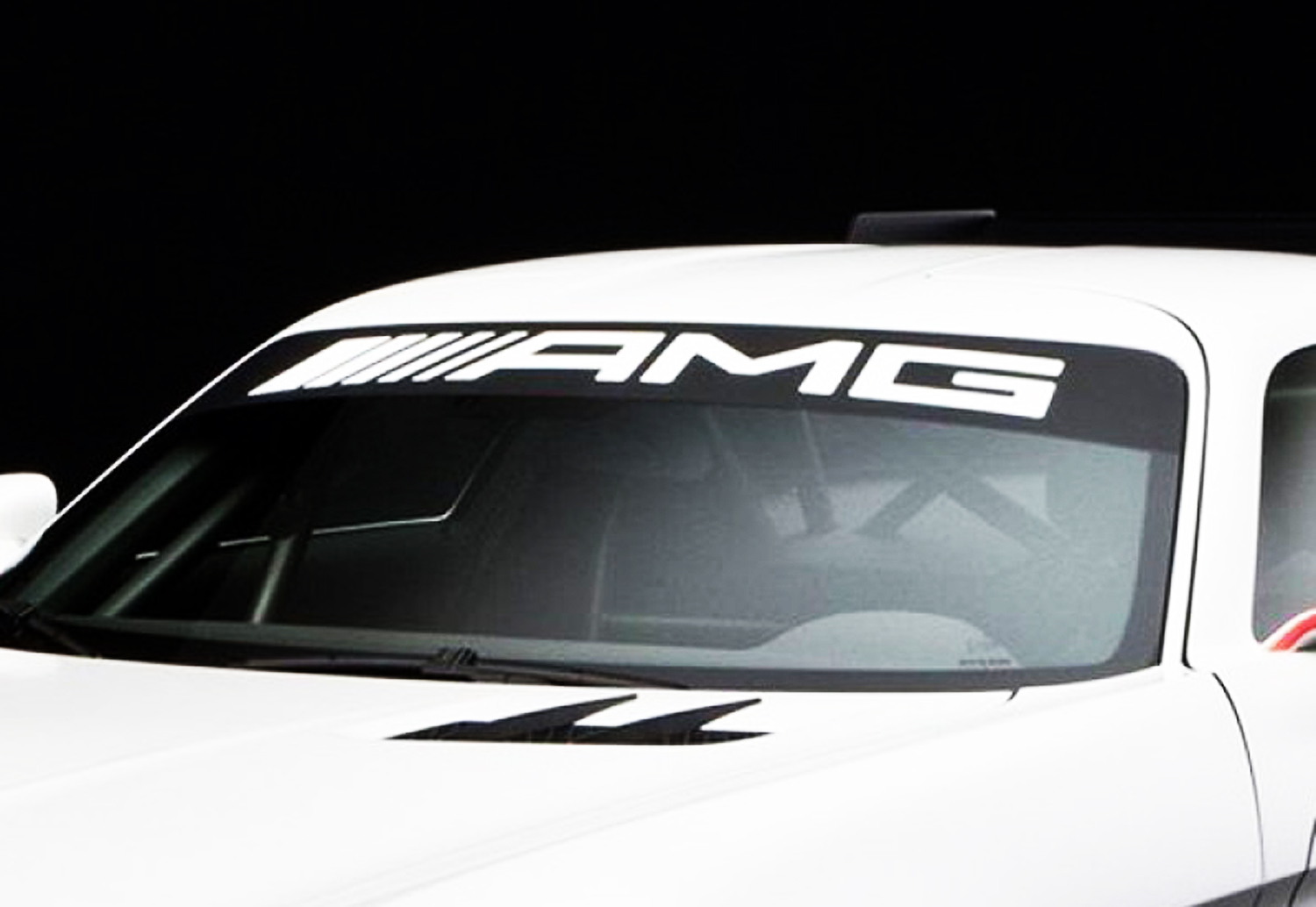 AMG Mercedes Benz Windshield ML350 C250 GL550 decal sticker