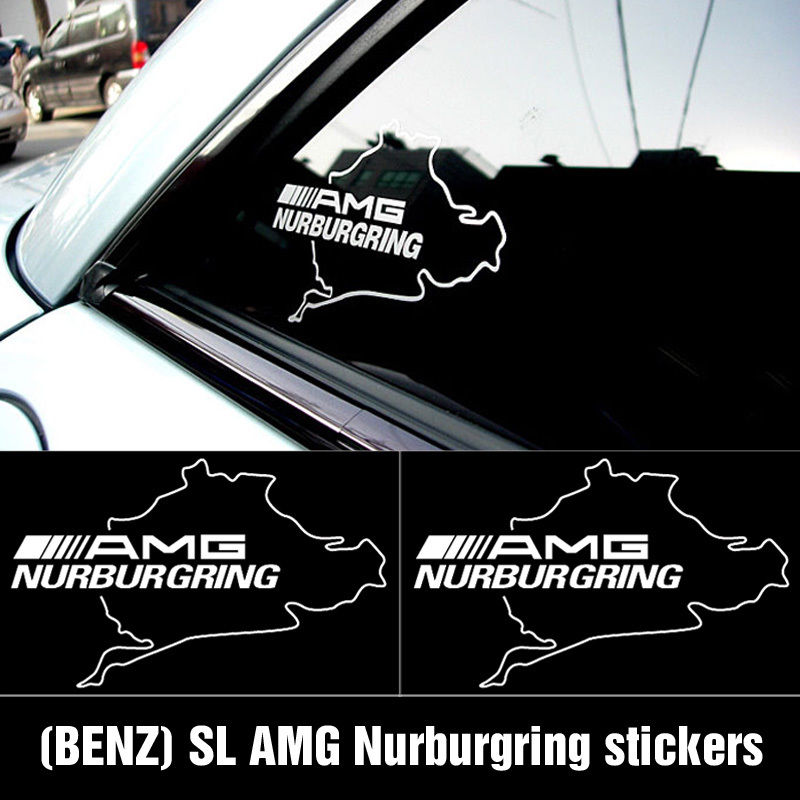 AMG NURBURGRING Mercedes Benz C55 CLK E55 CLS63 Decal sticker1
