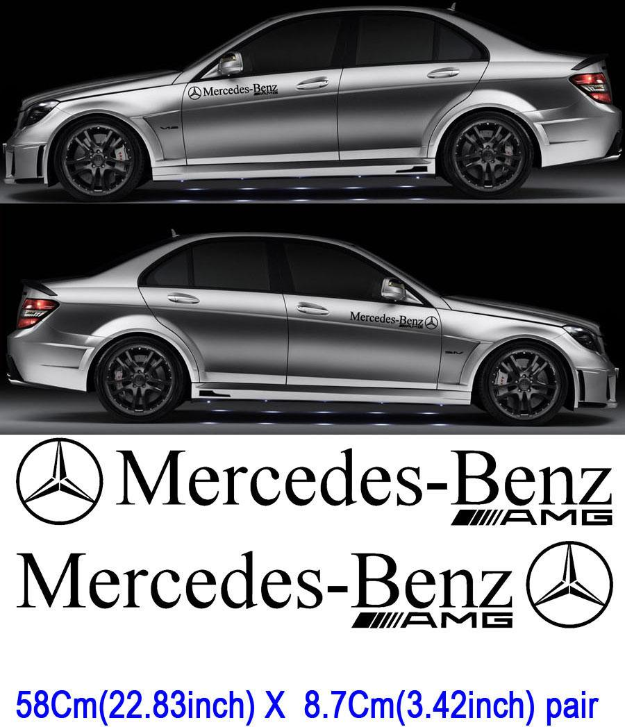 Product 2 mercedes benz motorsport sticker decal car amg for Mercedes benz motorsport