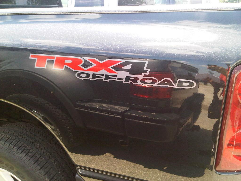 TRX4 OFFROAD Dakota TRUCK 4x4 AUFKLEBER AUFKLEBER