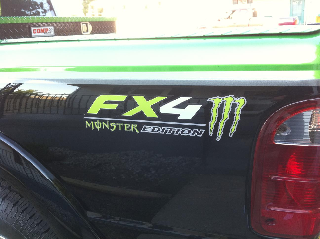 Product 2 Ford Fx4 Decals F150 F250 F350 Monster Edition