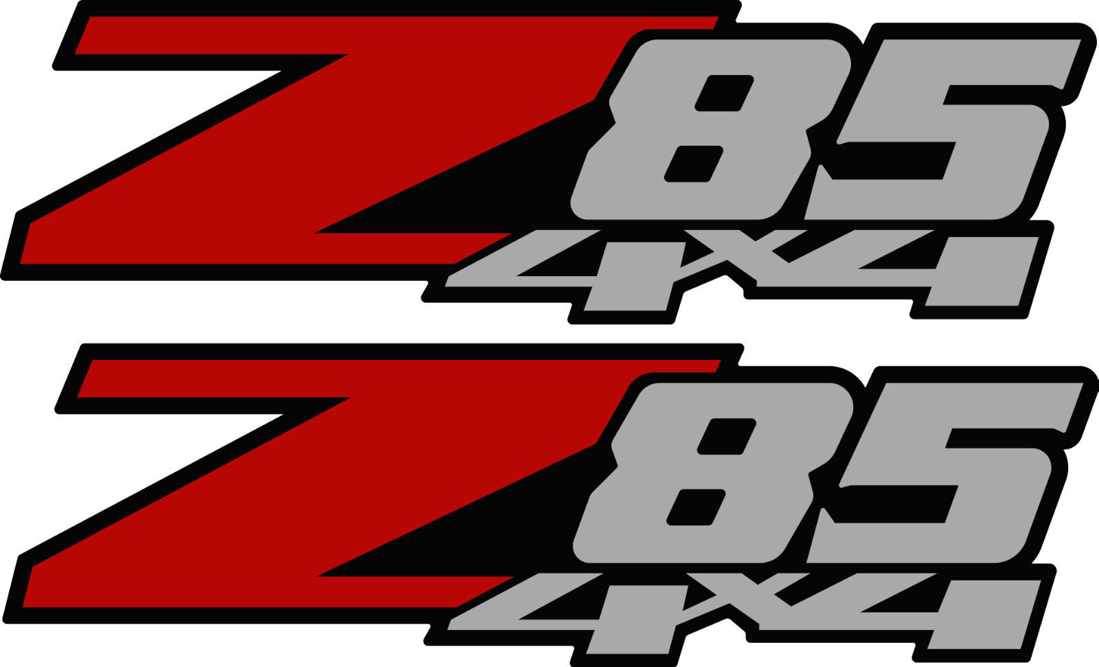 Product 2 Z85 4x4 Chevy Decal Sticker Parts For Silverado Gmc