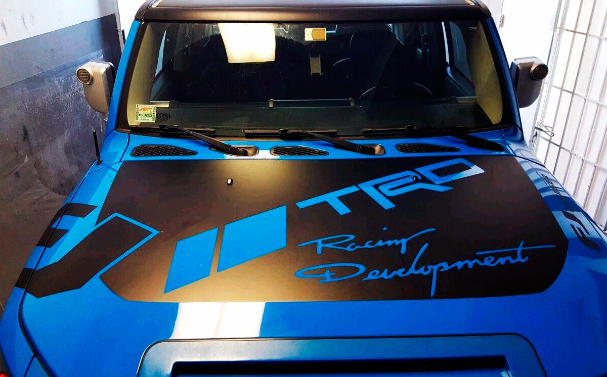 Product Toyota Fj Cruiser Hood Decal Trd Racing
