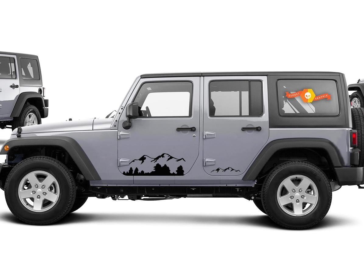 Product 2 Jeep Mountain Rubicon Jk Door Any Colors