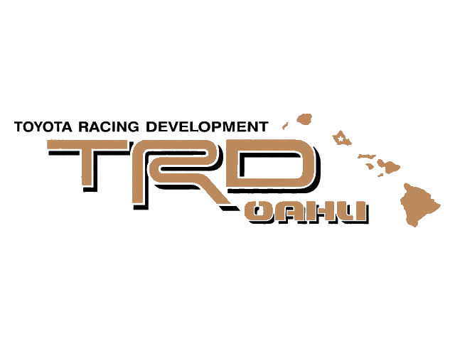 2 toyota trd oahu decal all terrain decal mountain trd racing development side vinyl decal sticker