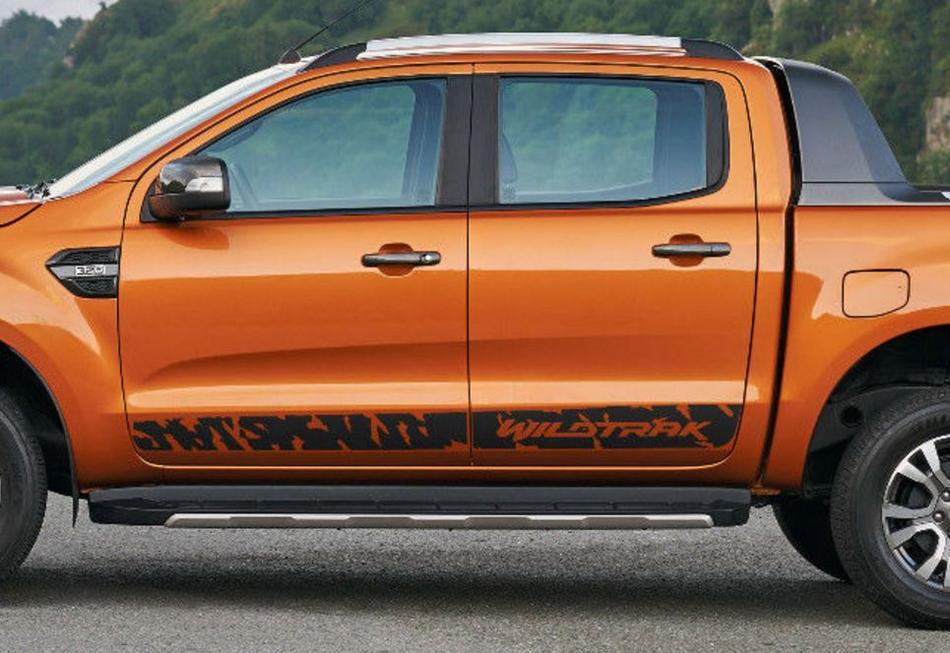 Ford Ranger Wildtrak Wild Side Stripe Graphics Aufkleber Aufkleber