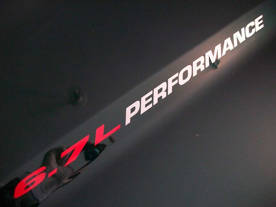 Product 6 7l Performance Hood Decals Ford F250 F350