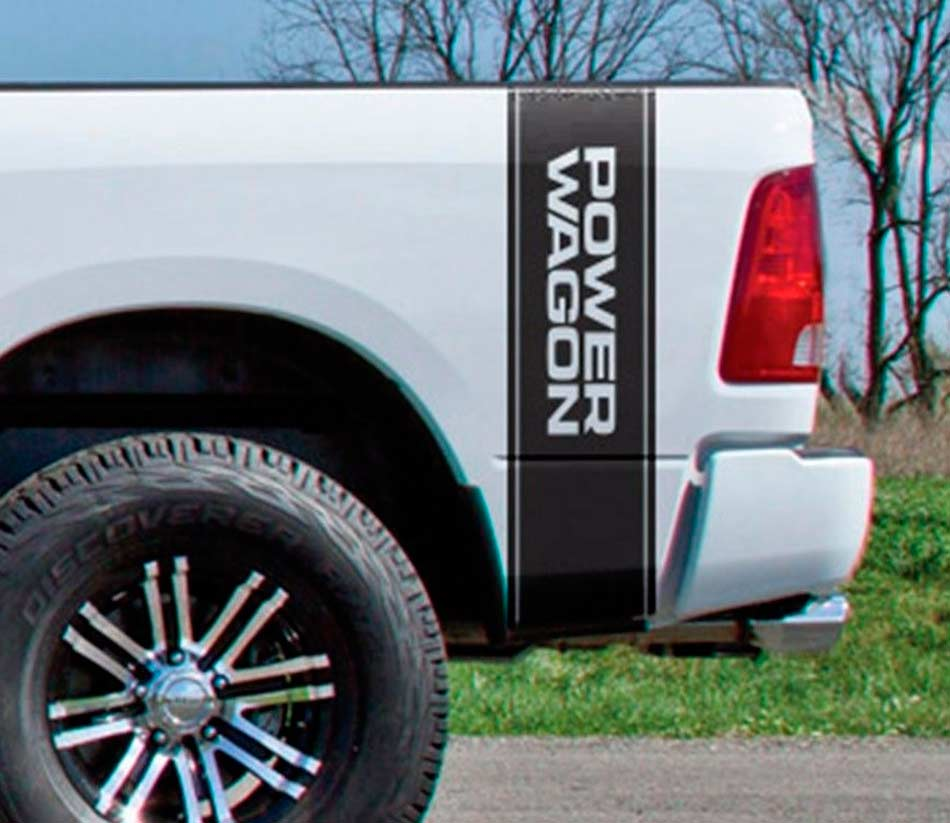 Product Dodge Ram 1500 Power Wagon Vertical Graphic Decal