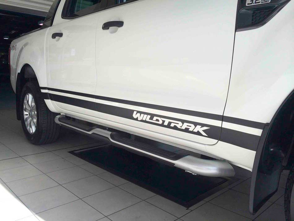 Product 2 PC Wildtrack Side Stripe Graphic Vinyl Sticker For Ford Ranger 2012 2013 2014 2015 2016