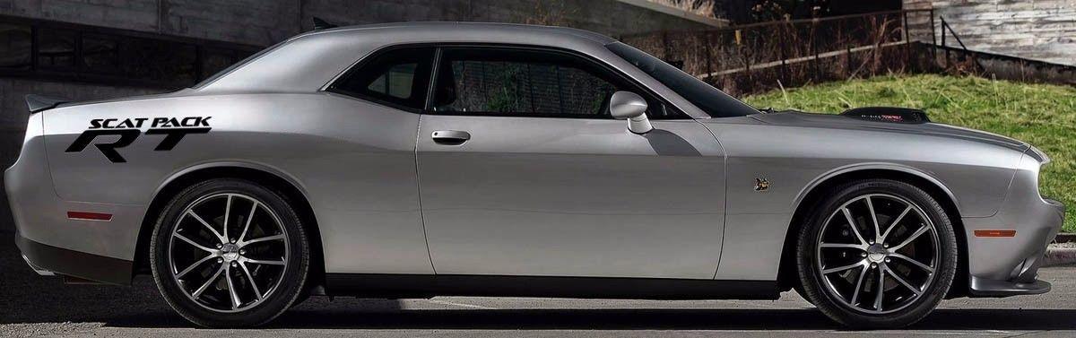 Custom decal graphics vinyl vehicle dodge rt hemi mopar rt challenger scat pack