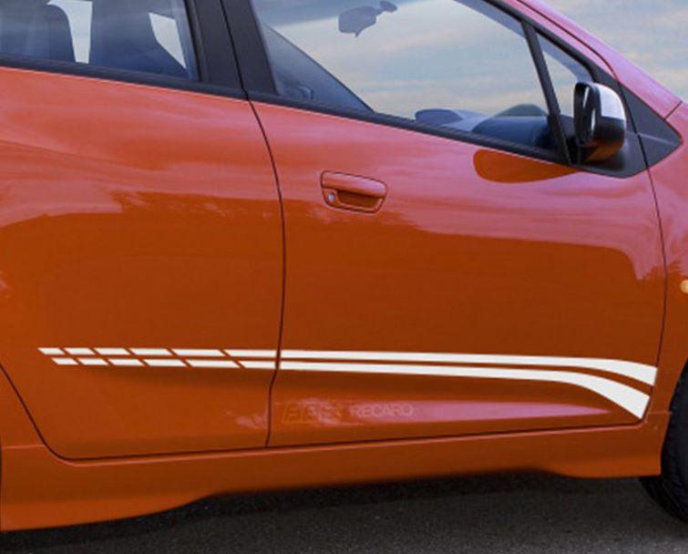 Chevrolet Spark Chevy Seitenstreifen Türlinie Aufkleber Grafiken