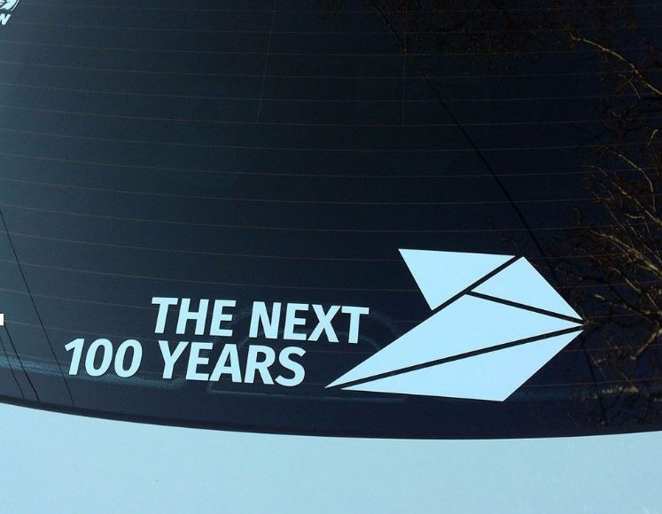 The Next 100 Years >> Bmw Motorsport M Performance Next 100 Years Window Sticker Decal Graphics