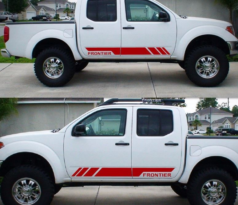 Product Decal Sticker Graphic Side Stripe Kit For Nissan