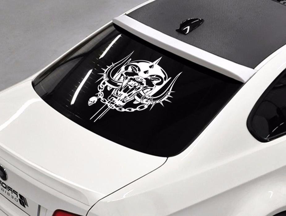 Product Motorhead Band Rock Metal Music Rear Window Hood