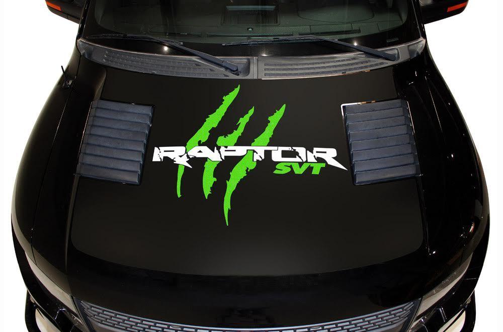 Ford Raptor Hood Vinyl Grafik Aufkleber (2010-2014)