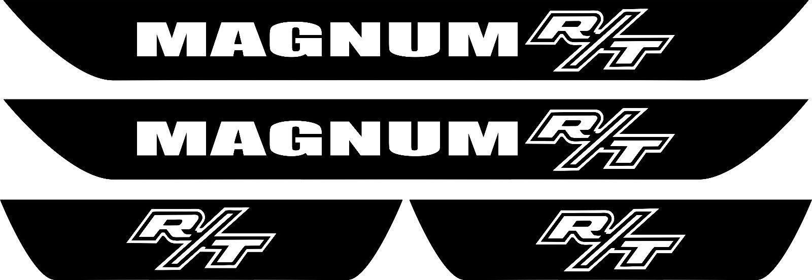 Dodge Magnum R-T Vinyl Türschwellen Aufkleber