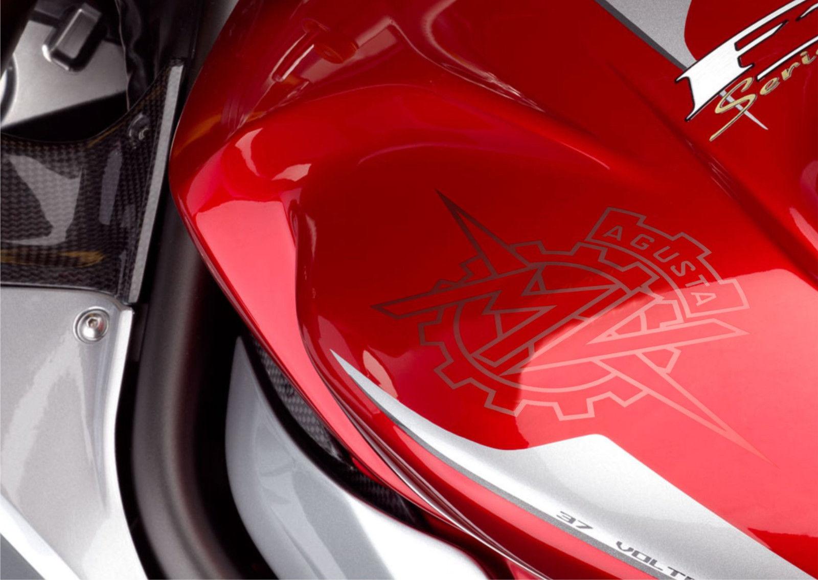 3 MV Agusta moto sticker for helmet for tank decal motorcycle arai bell shoei 1
