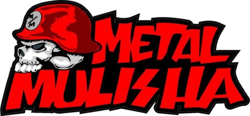 METAL MULISHA DECAL PAIR 3 Sticker Truck Trailer Moto Car Window Wall Art
