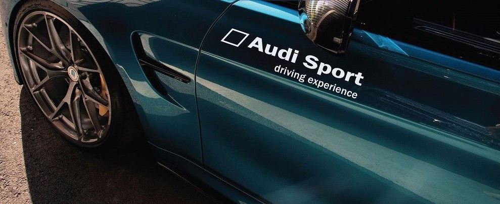 Audi Sport Driving Experience Decal Sticker S4 S5 S6 RS7 RS3 quattro Pair