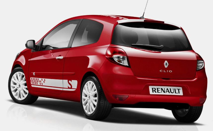 Renault Clio S MK3 Seitenstreifen Grafik Aufkleber Aufkleber adesivi