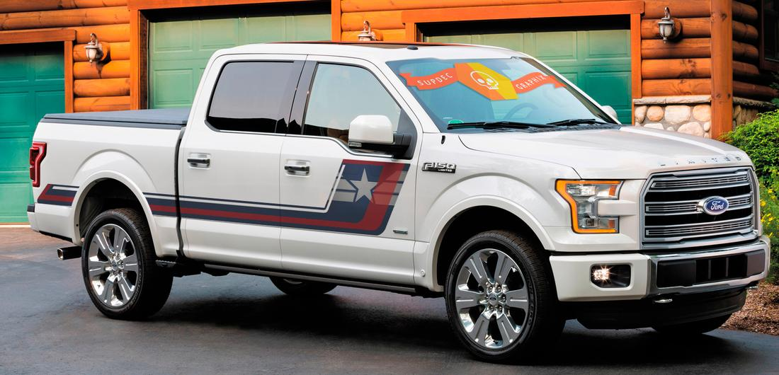 F 150 Tremor >> Product: NEW Captain America theme superhero patriotic Ford F-150 Hockey Tremor Style Decals ...