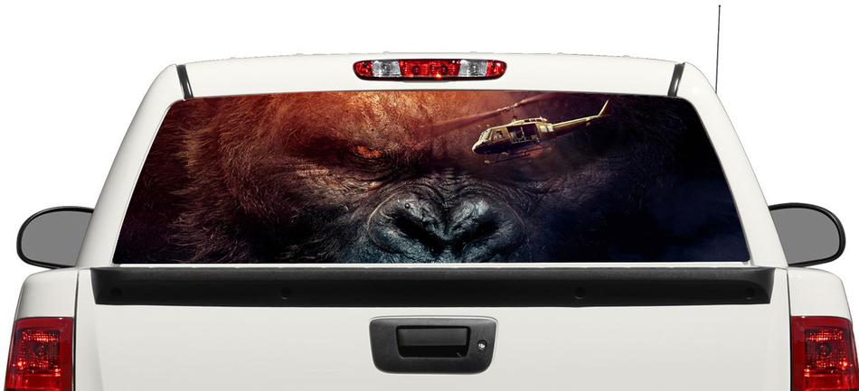 Kong Skull Island Rear Window Decal Sticker Pick-up Truck SUV Car 3