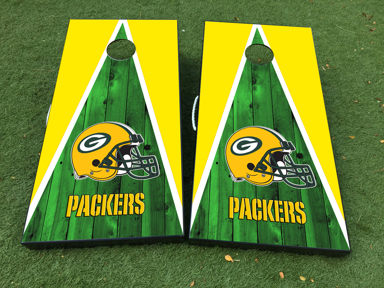 f06fd8952db Green Bay Packers Cornhole Board Game Decal VINYL WRAPS with LAMINATED