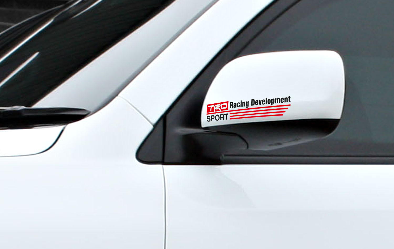 2x toyota racing development trd motorsport car vinyl sticker decal camry tundra tacoma rav4 corolla