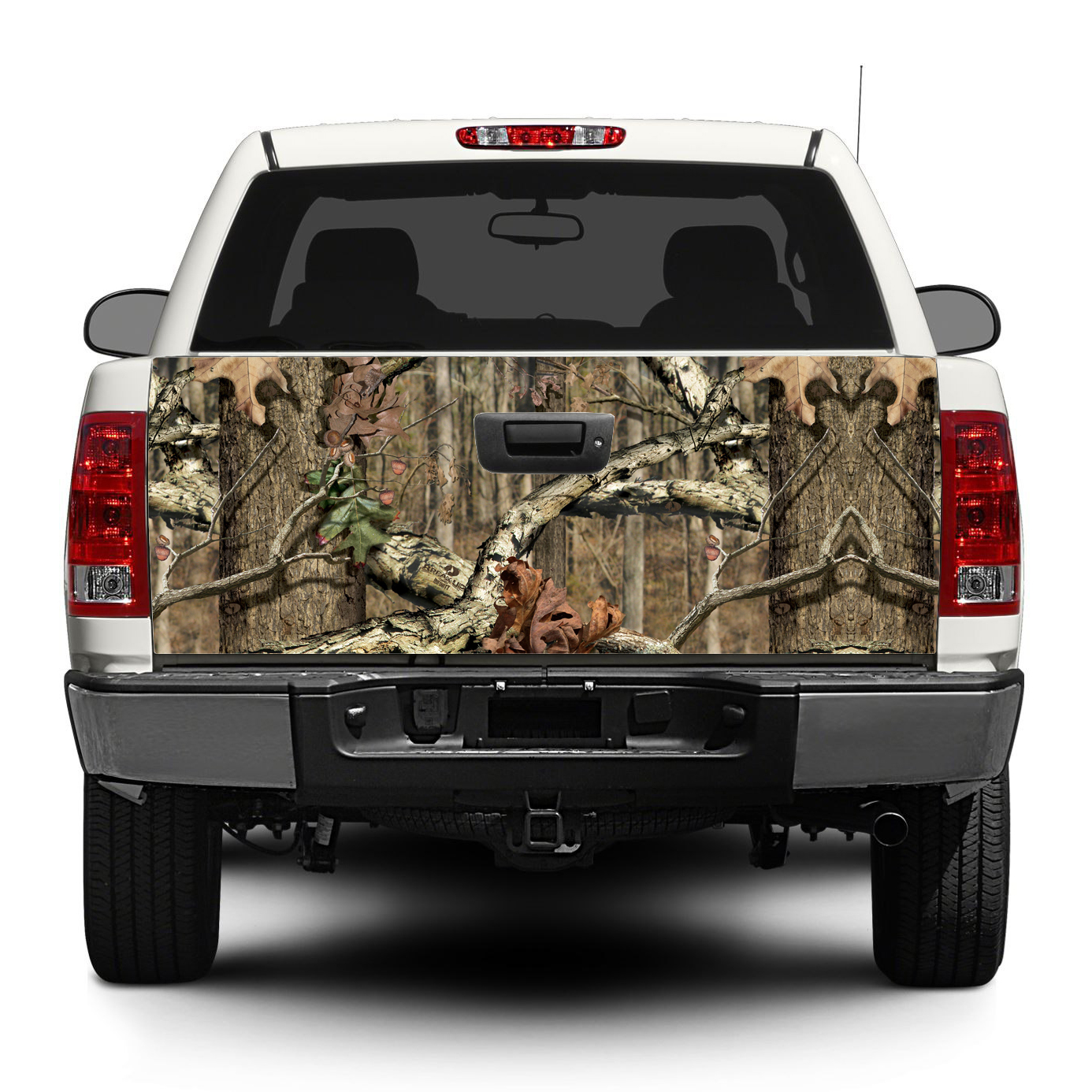 product camouflage camo forest tailgate decal sticker wrap pick  truck suv car