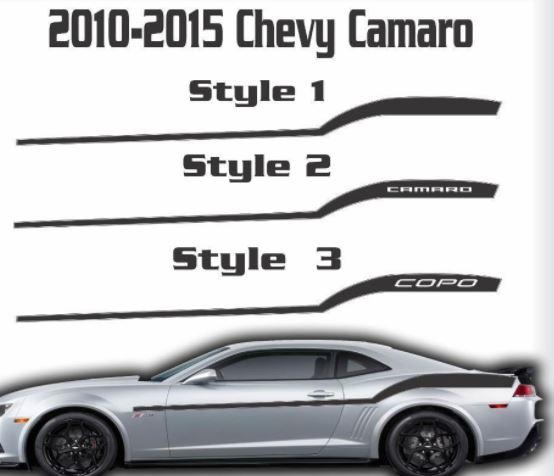 2010 2011 2012 2013 2014 2015 Chevy Camaro Racing Streifen Grafik Aufkleber Chevrolet