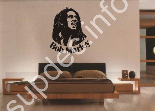 Bob Marley Wandtattoo Aufkleber