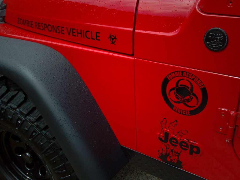 Product Jeep Rubicon Wrangler Zombie Outbreak Response