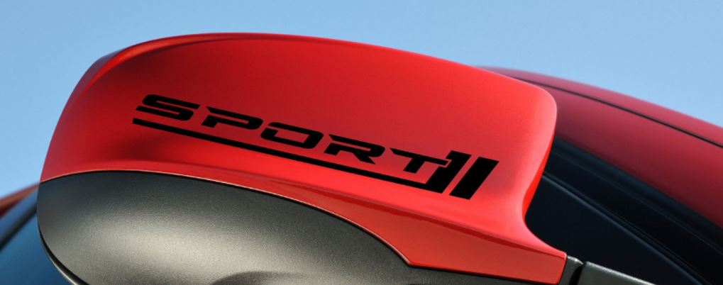Sports Mind Produced by MAZDA 6 Racing Decal sticker emblem logo BLACK//R Pair