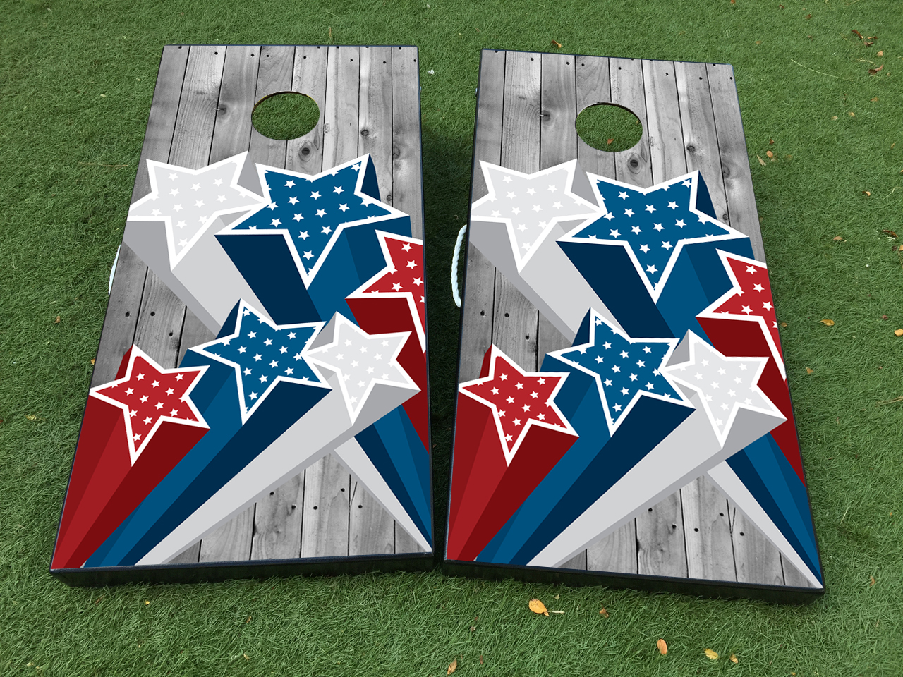 Independence Day United States Cornhole Board Game Decal VINYL WRAPS with LAMINATED