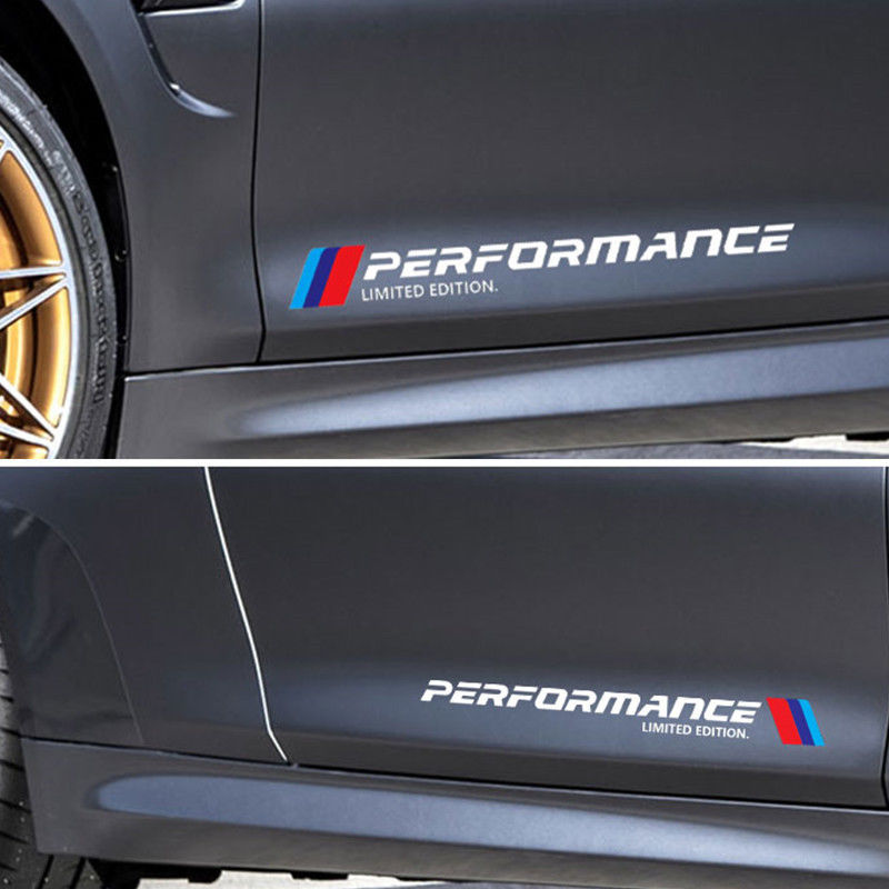 Performance Sports Sticker Body Vinyl Decals For BMW M Power MPerformance