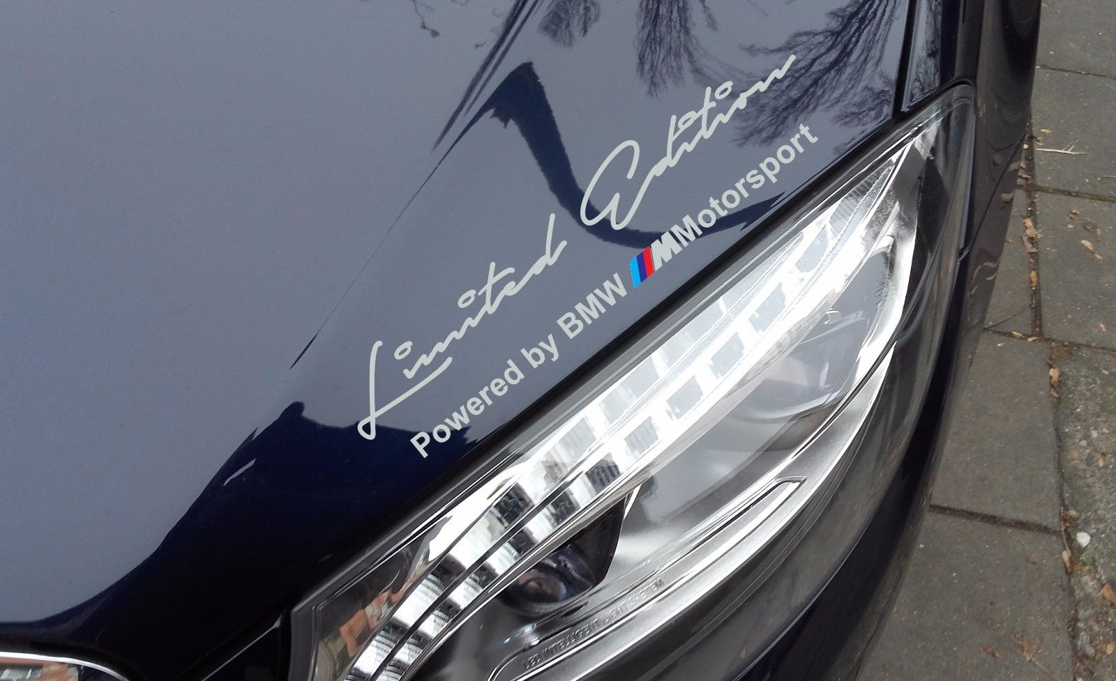 2 x Limited edition M Motorsport Decal Sticker compatible with BMW M3 M4 M5 M6