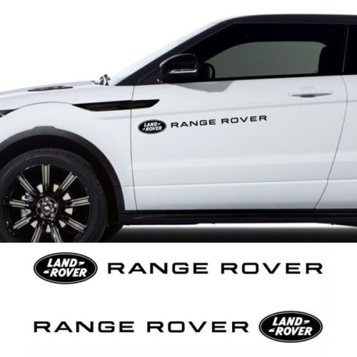 LAND ROVER RANGE ROVER side vinyl body decal sticker graphics emblem logo