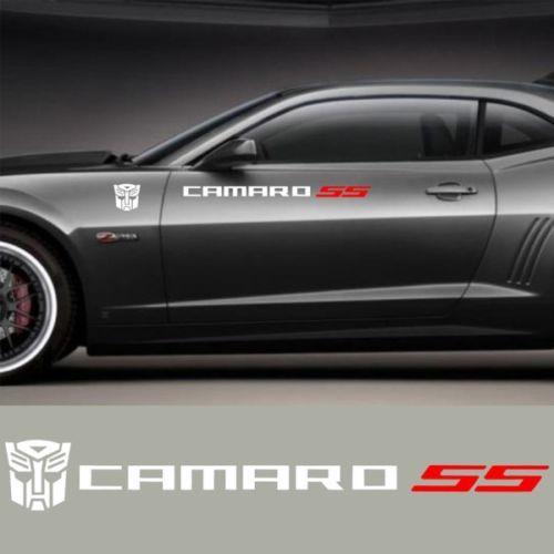CAMARO Türen Banner Aufkleber Vinyl Aufkleber Chevy Chevrolet SS Sport