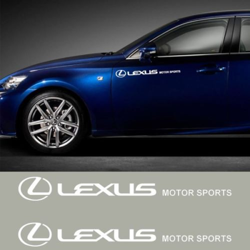 Gloss White or Black Lexus Vinyl Sticker Decal Logo Overlay IS GS LS RC