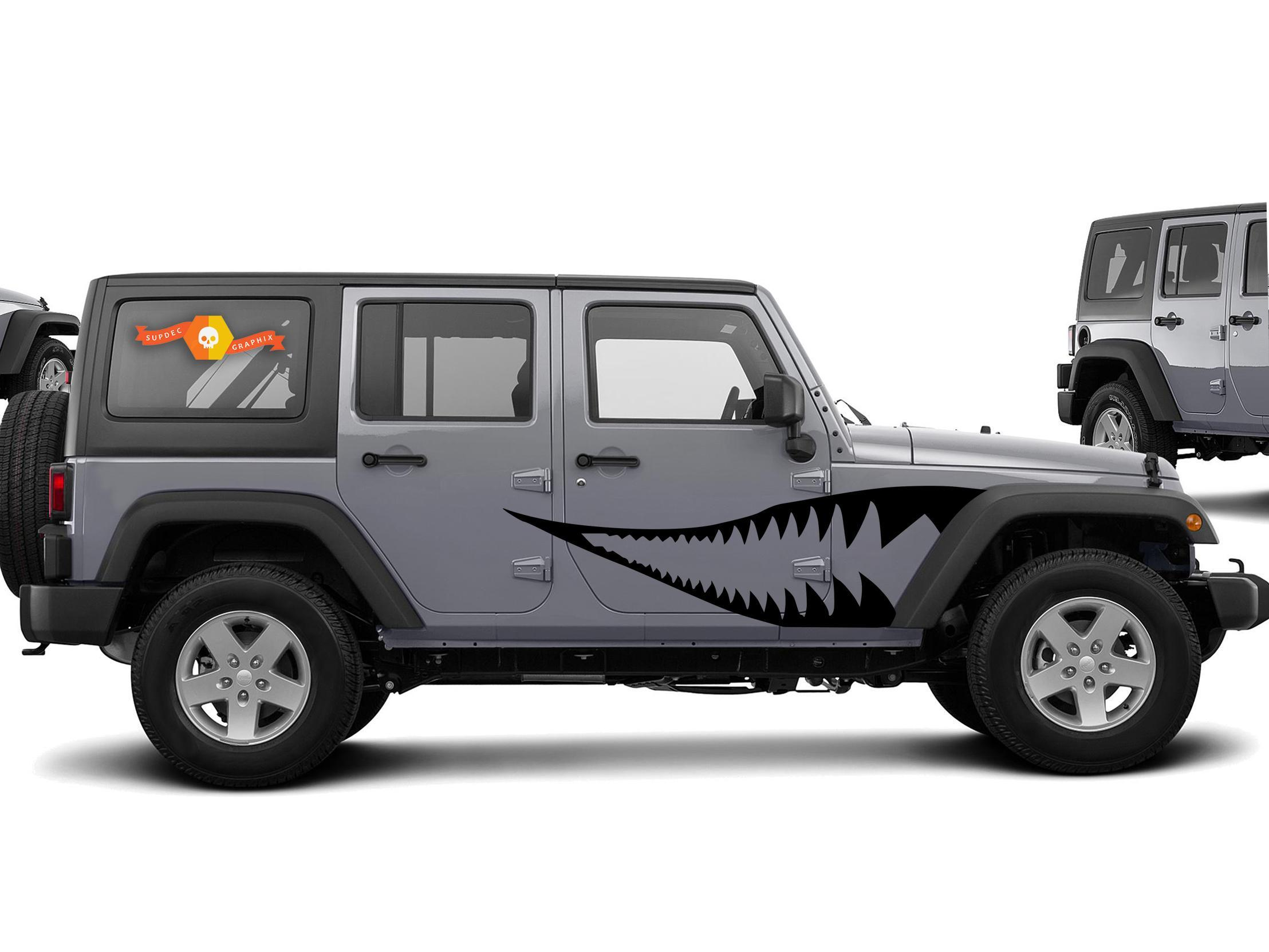 Product Warhawk Graphic Decal For 07 17 Jeep Wrangler
