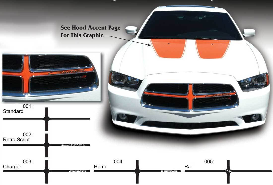 Full Kit of Stickers Decas compatible with dodge Charger No156
