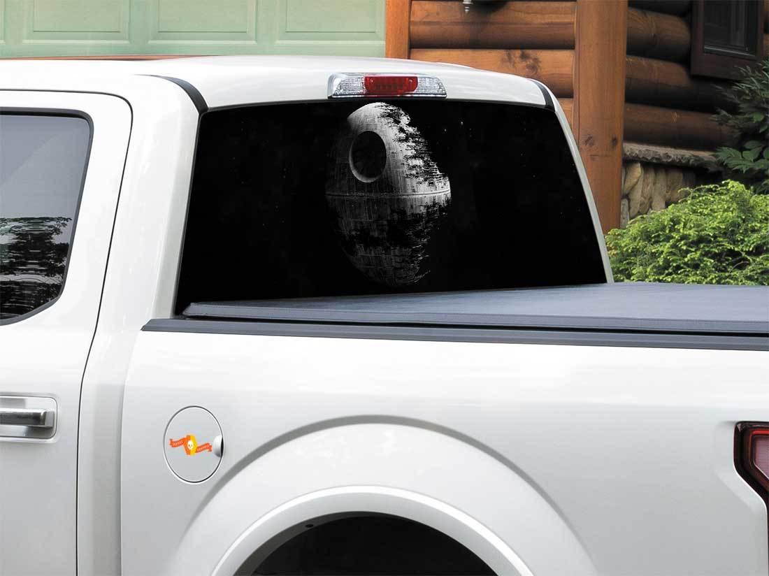 Love Death Star Vinyl Sticker Car Decal