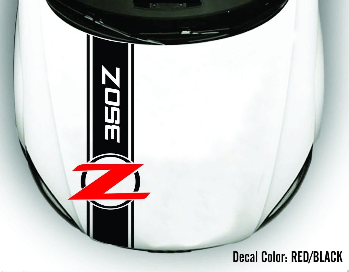 Vinyl Aufkleber Streifen für HOOD Passend für NISSAN 350Z 370Z Touring Coupé Cabrio